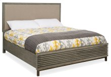 Bedroom Annex Queen Upholstered Panel Bed w/ Storage FB