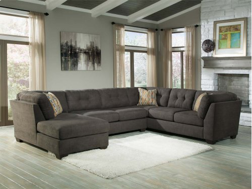 Delta City Steel 3 Pc. Sectional