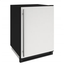 """1000 Series 24"""" Convertible Freezer With White Solid Finish and Field Reversible Door Swing (115 Volts / 60 Hz)"""