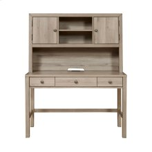 Kids 2 Door Desk Hutch in River Birch Brown