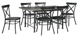 Minnona - Multi 7 Piece Dining Room Set