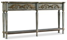 Living Room Gilded Console