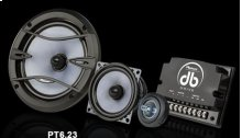 "6.5"" mid-bass / 4"" mid-range component set"