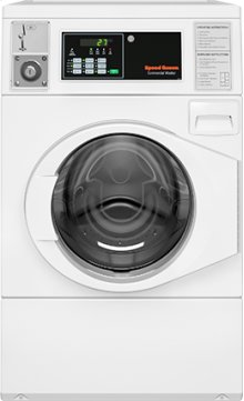 Front load Washer - Coin-Operated - Front Control