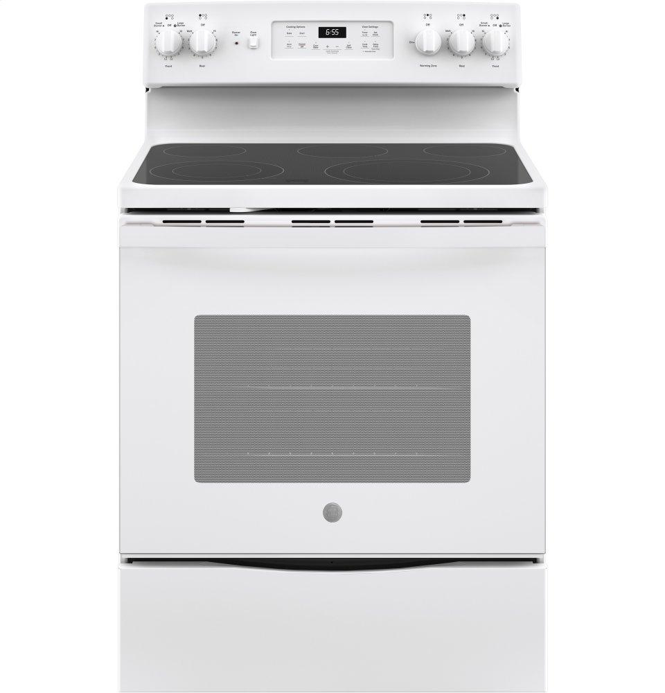 """GE30"""" Free-Standing Electric Convection Range"""