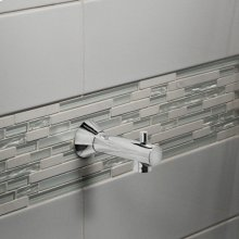 Berwick Slip-On Diverter Tub Spout - Polished Chrome