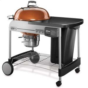 WeberPERFORMER® DELUXE CHARCOAL GRILL - 22 INCH COPPER