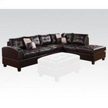 Kiva Espresso Sectional Sofa