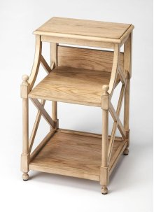 Inspired by the vintage bookseller shelves along the River Seine, this charming book table is great for storing and displaying your favorite books. Crafted from mahogany wood solids and wood products with choice mahogany veneers, it is the perfect chairsi