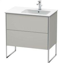 Vanity Unit Floorstanding, Concrete Gray Matt Decor