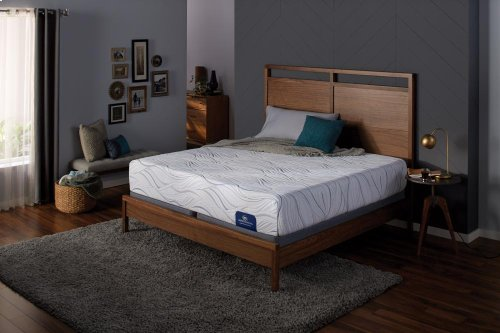 Perfect Sleeper - Foam - Boysenberry - Tight Top - Plush - Full