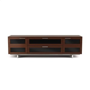 Bdi FurnitureQuad Width Cabinet 8929 in Chocolate Stained Walnut