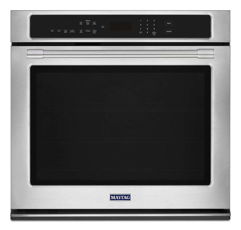 Maytag30-Inch Wide Single Wall Oven With True Convection - 5.0 Cu. Ft.