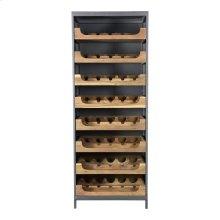 Speakeasy Teak Wine Cabinet