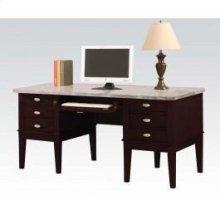 Desk W/white Marble Top