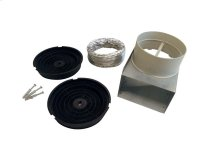 Recirculation Kit for model Hoods KU PRO/14, CON/14 Stainless