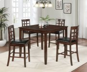 Blaire 5 Pc Square Counter Height Pub Set Product Image