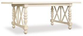 Dining Room Sandcastle 80in Rectangle Dining Table w/2-18in Leaves