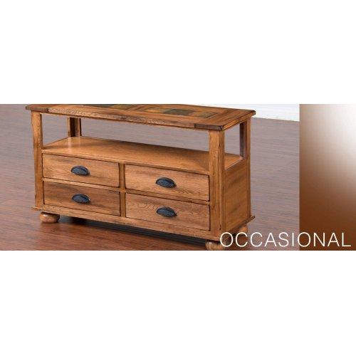 Sedona Sofa Table w/ Drawers
