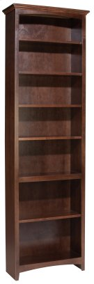 "CAF 84""H x 24""W McKenzie Alder Bookcase Product Image"