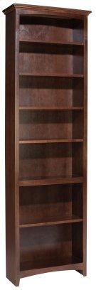 "CAF 84""H x 24""W McKenzie Alder Bookcase Product Image"