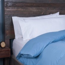 Posturepedic Down Alternative Color Comforter - Blue - Oversized Queen