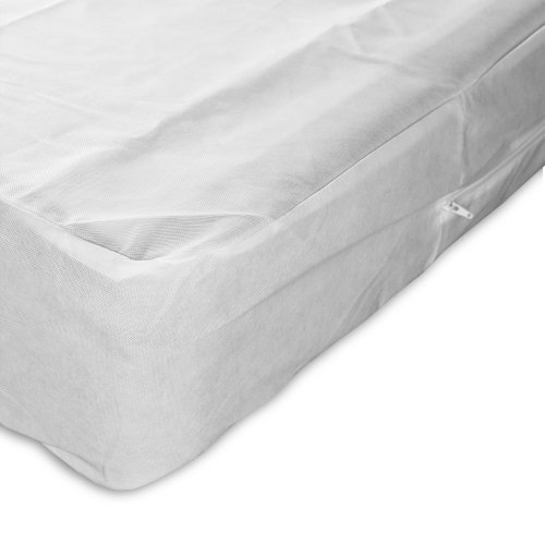 Sleep Calm 4-Piece Premium Bed Bug Prevention Pack Plus with Pillow Protectors, Easy Zip Mattress and Zippered Box Spring Encasement, Full