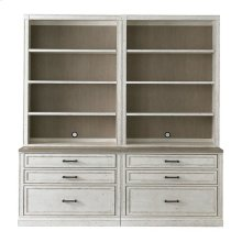 "Bella 80"" Library Bookcase"