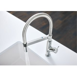 Blanco Solenta Senso Semi-professional Kitchen Faucet - Polished Chrome
