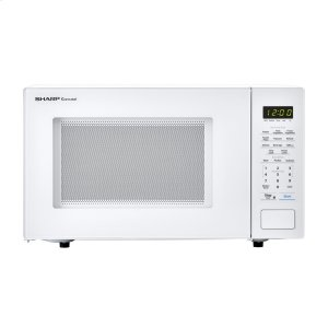 Sharp1.1 cu. ft. 1000W Sharp Countertop White Microwave