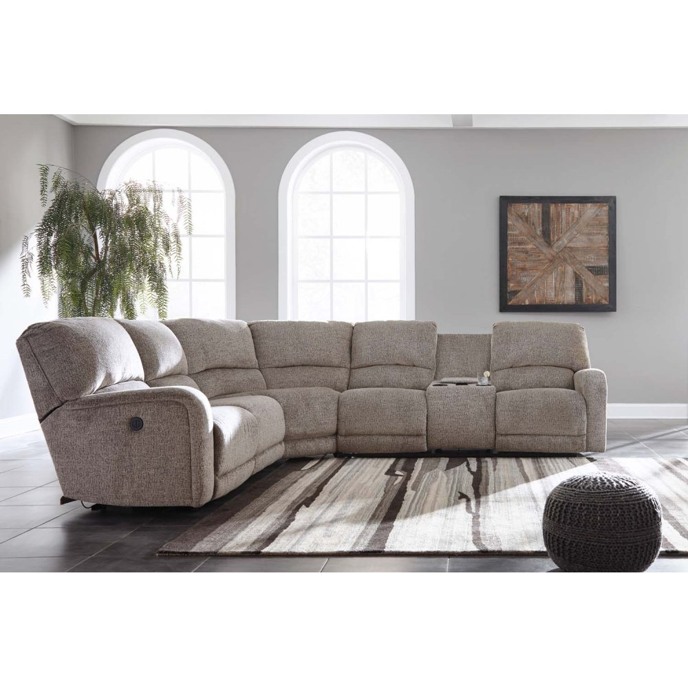 4 Pc Power Reclining Sectional
