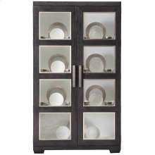 Decorage Display Cabinet in Cerused Mink (380)