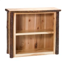 Hickory Small Bookshelf - Rustic Maple