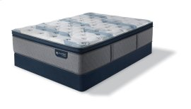 iComfort Hybrid Blue Fusion 300 Plush Pillow Top Queen