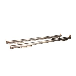 "BertazzoniTelescopic glide set for 24"" ranges and 30"" wall ovens Stainless Steel"