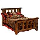 Barnwood Single Post Platform Bed Product Image