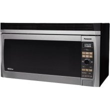 Luxury Full Size 2.0 Cu. Ft. Over-the-Range Microwave Oven with Inverter Technology, Stainless