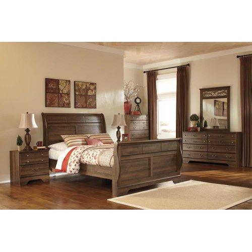 Allymore - Brown 2 Piece Bedroom Set