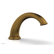 GEORGIAN & BARCELONA Deck Tub Spout K5141 - French Brass