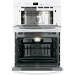 """GE Profile GE Profile™ 30"""" Built-In Combination Convection Microwave/Convection Wall Oven"""