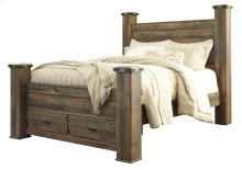 Trinell - Brown 5 Piece Bed Set (Queen)