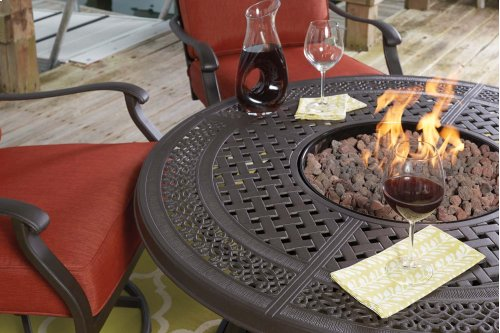 Round Fire Pit Table Top
