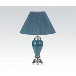 "27""h Porcelain Lamp(all Green)"