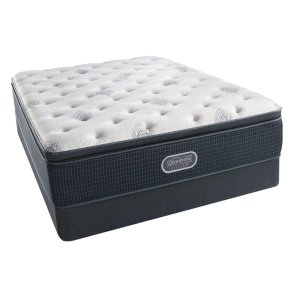 SimmonsBeautyRest - Silver - Open Seas - Pillow Top - Luxury Firm - Cal King