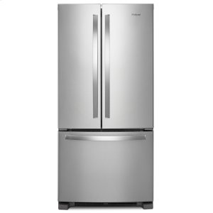 33-inch Wide French Door Refrigerator - 22 cu. ft. Fingerprint Resistant Stainless Steel - FINGERPRINT RESISTANT STAINLESS STEEL