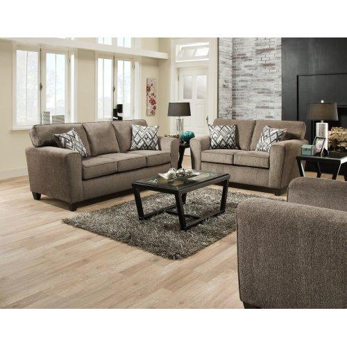 3100 - Cornell Pewter Sofa