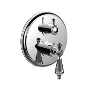 """7099kt-tm - 1/2"""" Thermostatic Trim With Volume Control and 3-way Diverter in Polished Chrome"""