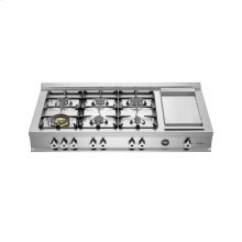 48 Rangetop 6-burner Stainless Steel