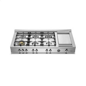 48 Rangetop 6-burner Stainless Steel -