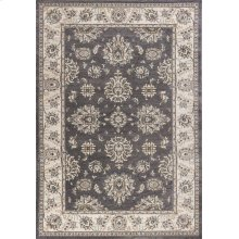 "Avalon 5608 Grey/ivory Kashan 5'3"" X 7'7"""